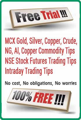Get Free Stock and Mcx Commodity Trial Tips on Mobile